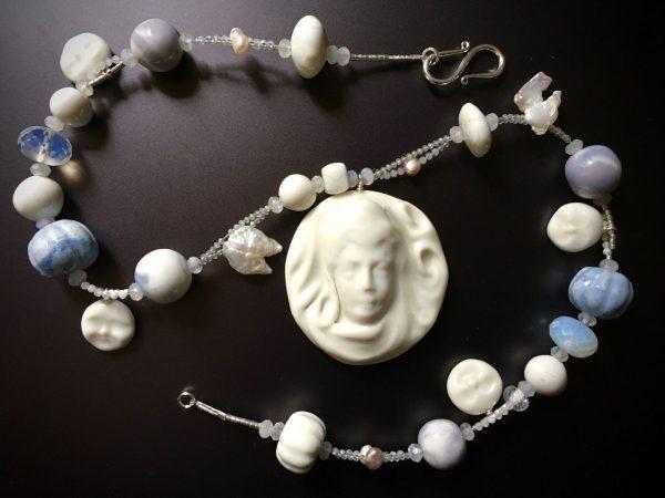 collier porcelaine belisame