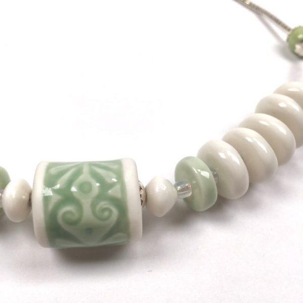 detail collier celadon belisame