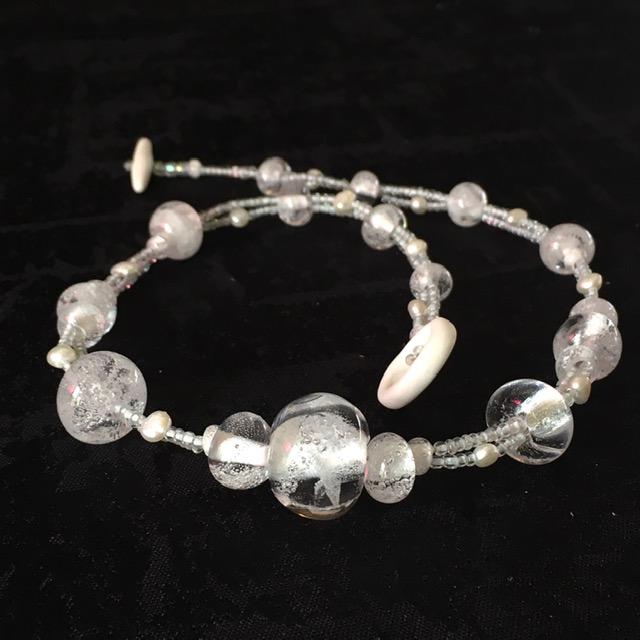 collier cristal belisame creations