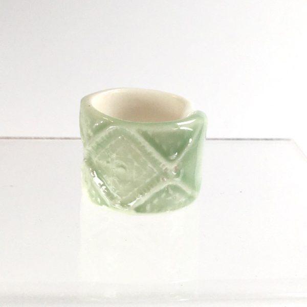 bague celadon belisame creations