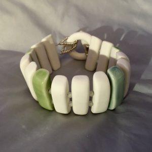 bracelet celadon belisame creations