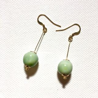 boucles d oreille celadon belisame creations
