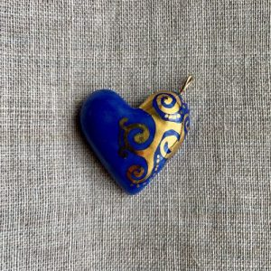 coeur en porcelaine belisame creations 4