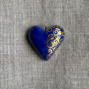 coeur bleu porcelaine belisame creations 5