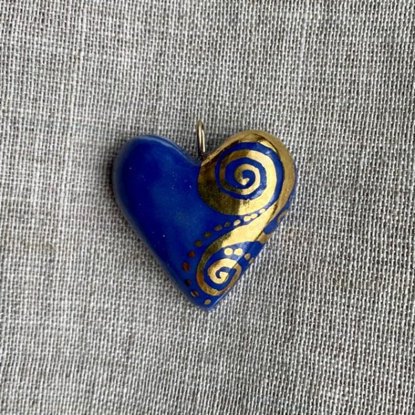 coeur porcelaine belisame creations