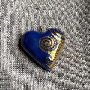 coeur en porcelaine belisame creations 3